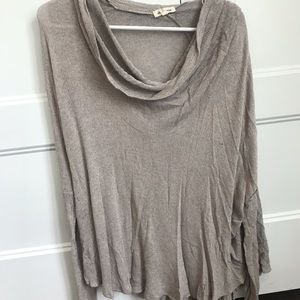 Over sized, Turtle Neck Lightweight Sweater